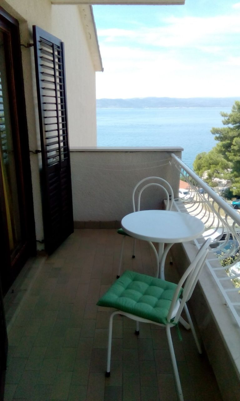 Nada - Brela - Appartementen Kroatië - A1(6): terras