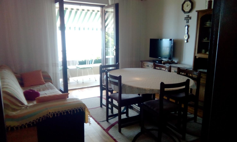 Nada - Brela - Appartementen Kroatië - A1(6): woonkamer