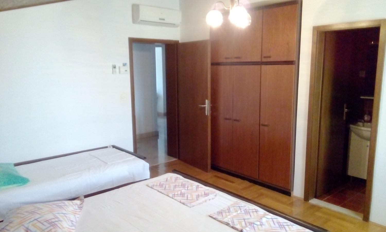 Nada - Brela - Appartementen Kroatië - A1(6): slaapkamer