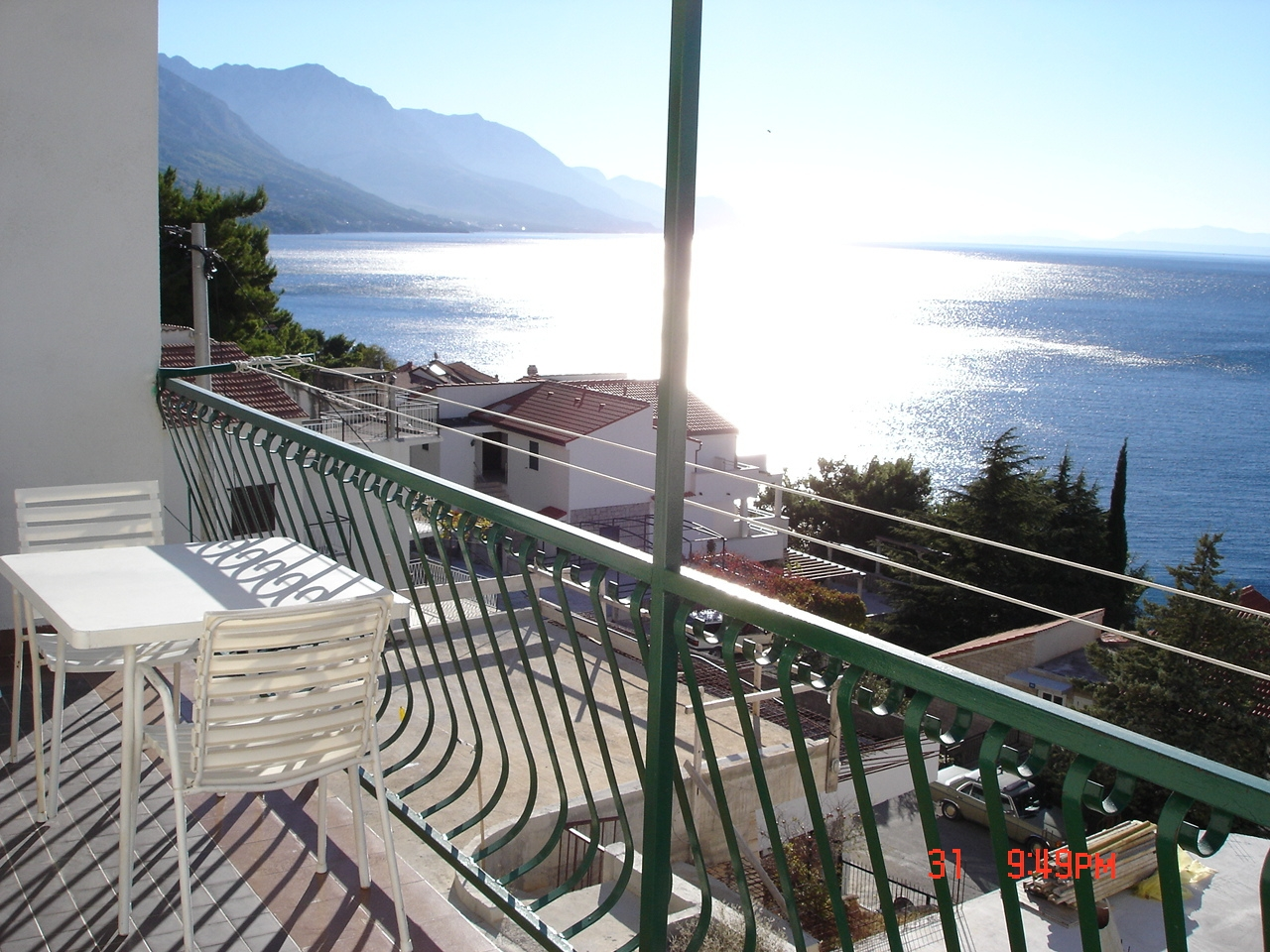 Apartments, Pisak, Riviera Omiš  - Apartments  Blaženka - panoramic sea view: