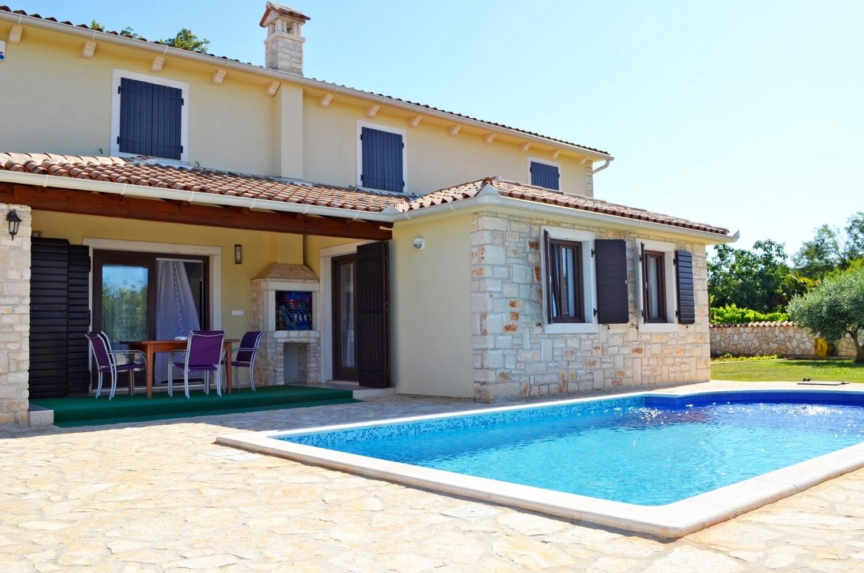 Mary - Medulin - Vakantiehuizen, villa´s Kroatië - H (8+1): zwembad