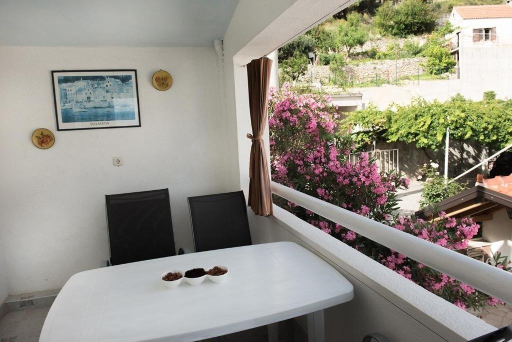 Nina - Celina Zavode - Appartementen Kroatië - A4(4+1): balkon