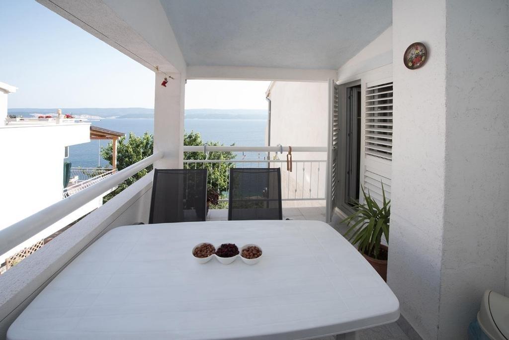 Nina - Celina Zavode - Appartementen Kroatië - A4(4+1): uitzicht vanaf terras