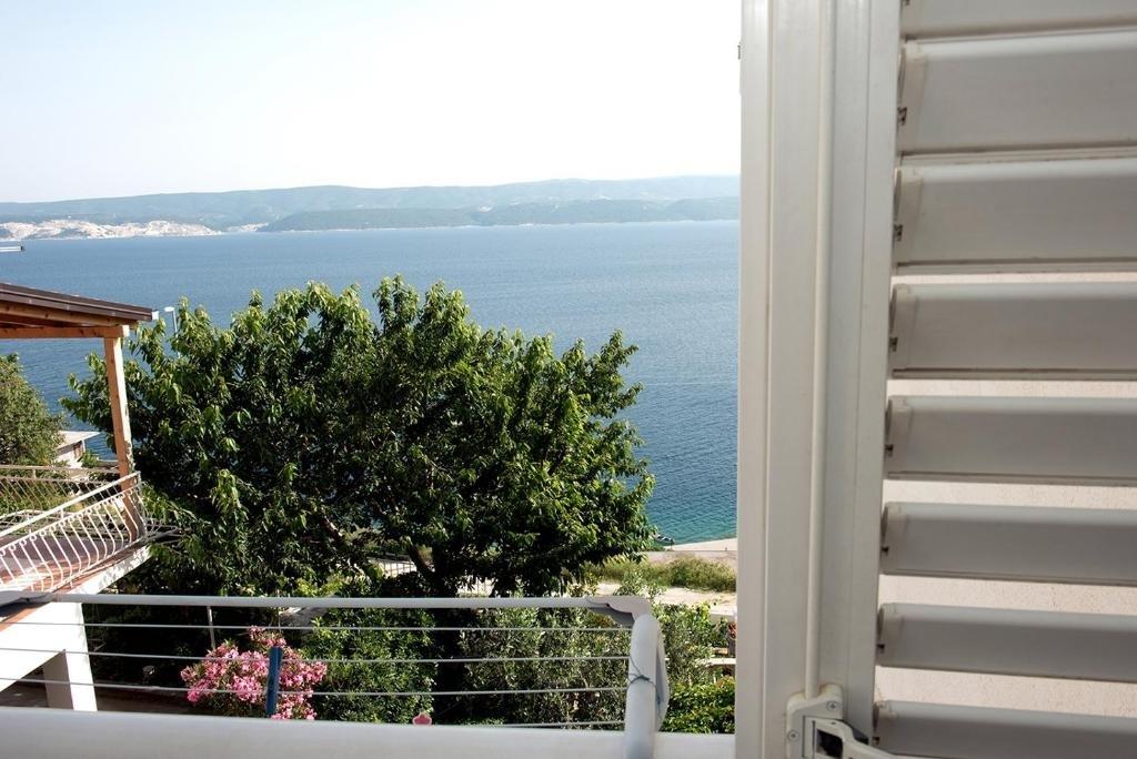 Nina - Celina Zavode - Appartementen Kroatië - A4(4+1): uitzicht vanuit het raam