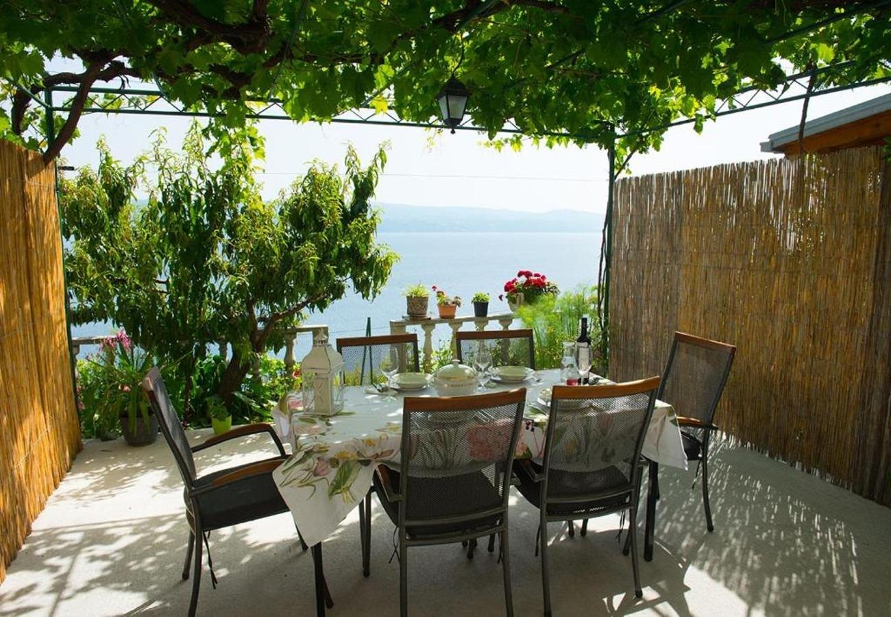 Nina - Celina Zavode - Appartementen Kroatië - A1Donji(2+2): terras
