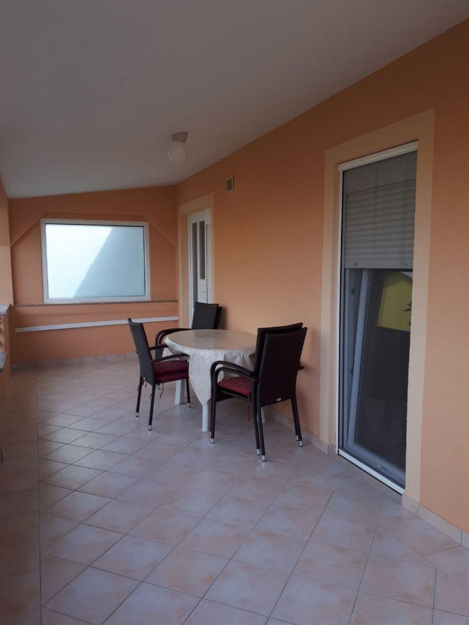 Nada - Vir - Appartementen Kroatië - A1(4+1): terras