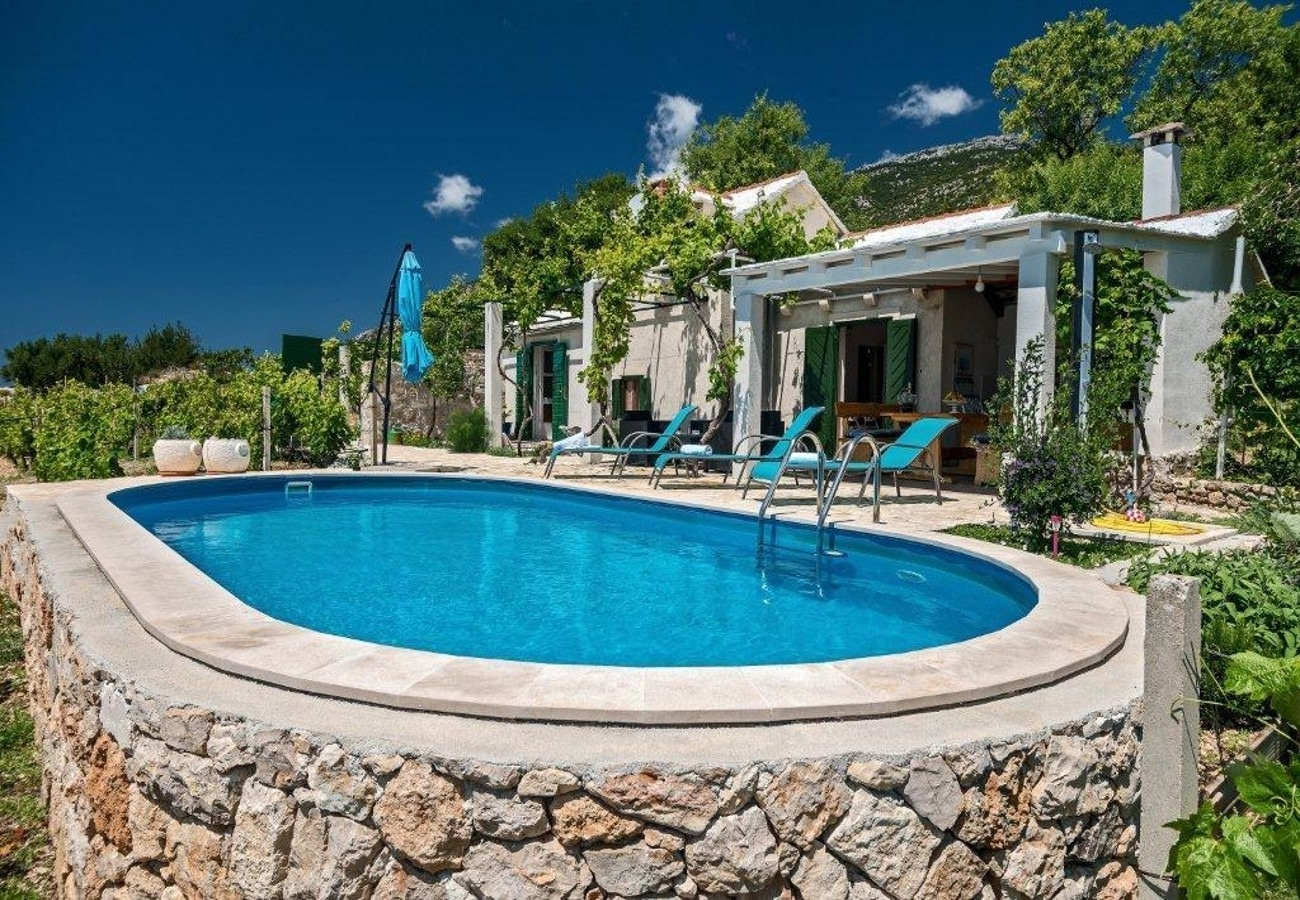 Holiday Homes, Bol, Island of Brač - Holiday houses, villas  Ivo - house with pool: