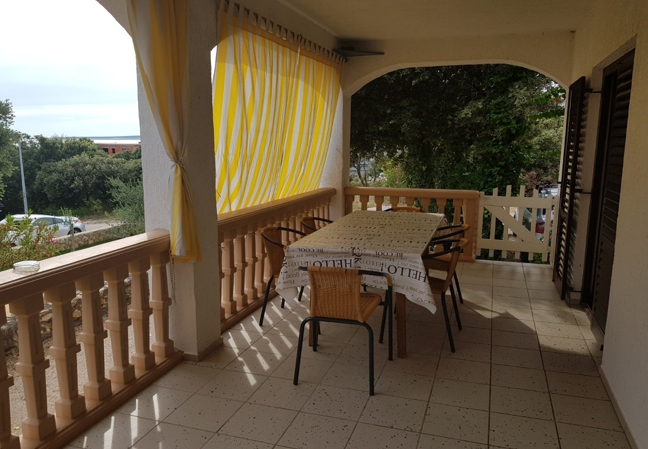 Holiday Homes, Mandre, Island of Pag - Holiday houses, villas  Mare - 50 m from beach: