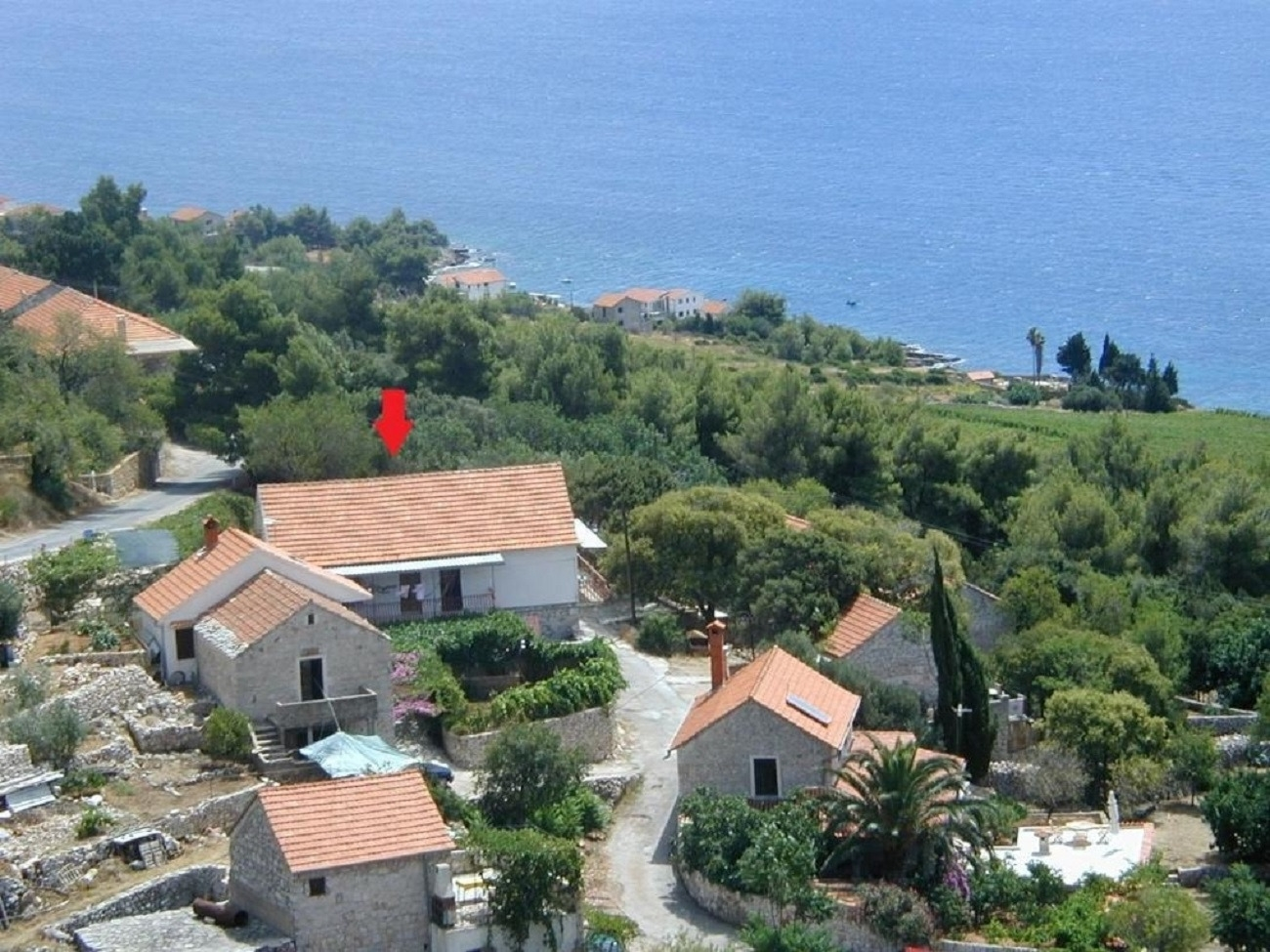 Apartments, Zavalatica, Island of Korčula - Apartments  Barba - Apartments with Air Conditioning: