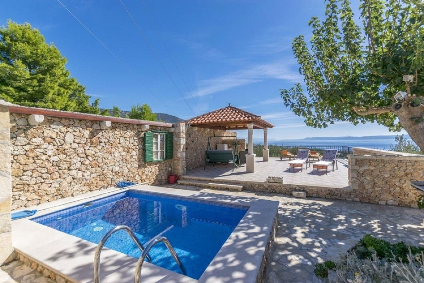 Holiday Homes, Bol, Island of Brač - Holiday houses, villas  Mate - with pool:
