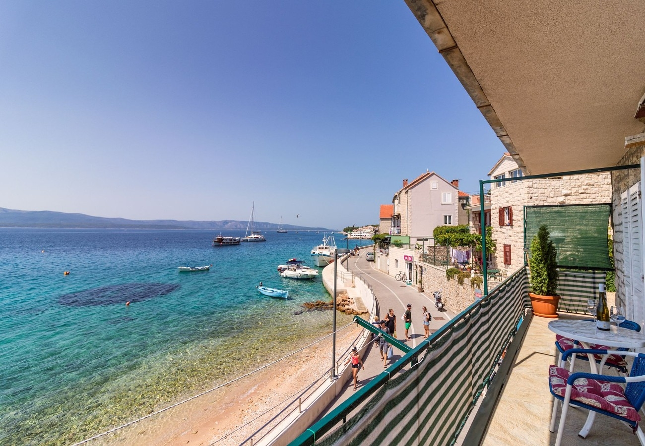 Apartments, Bol, Island of Brač - Apartments  Zdravko - 5 m from beach: