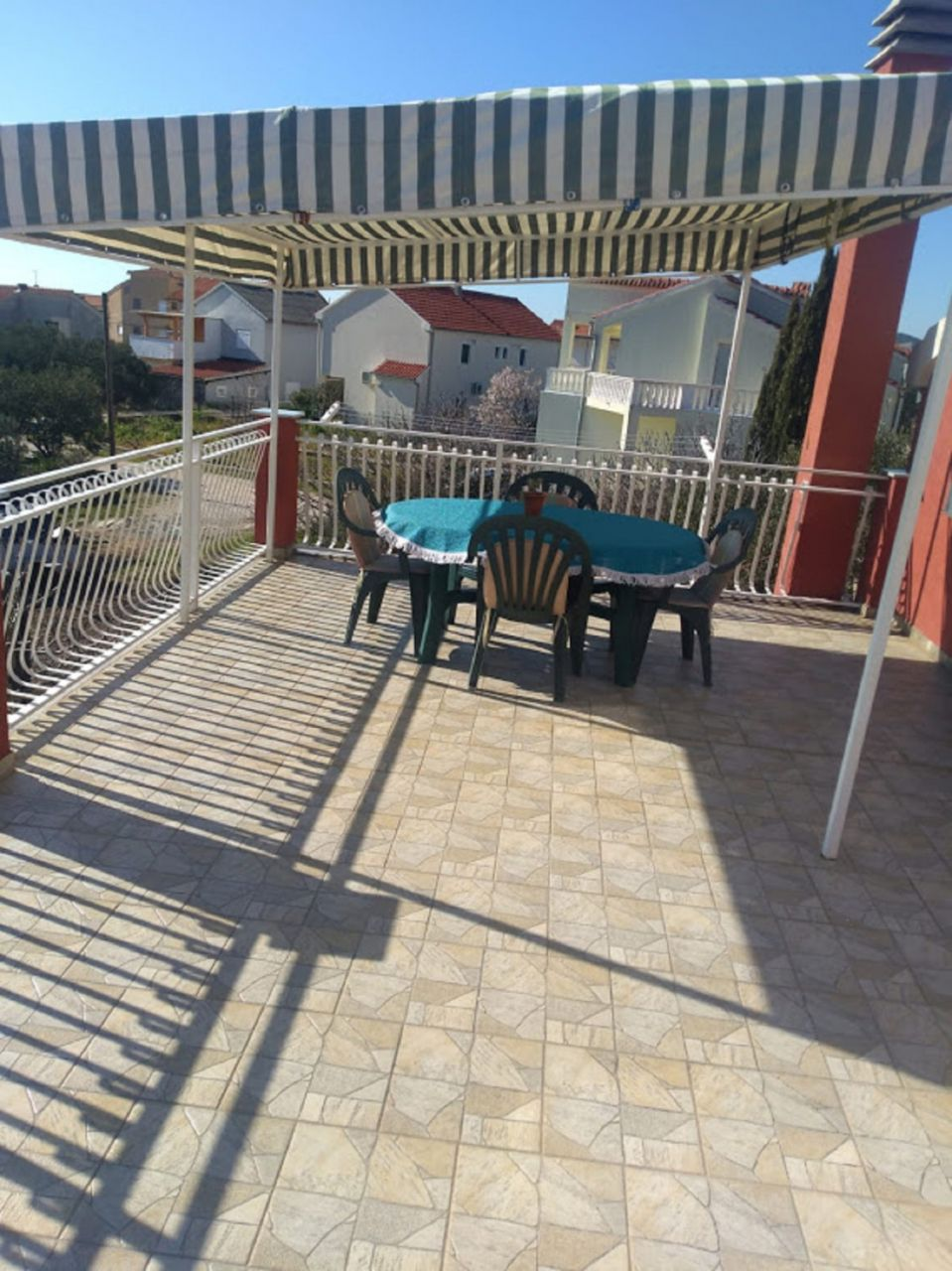 Apartments, Tribunj, Vodice and surroundings - Apartments  Tomi - with a large terrace (30m2):