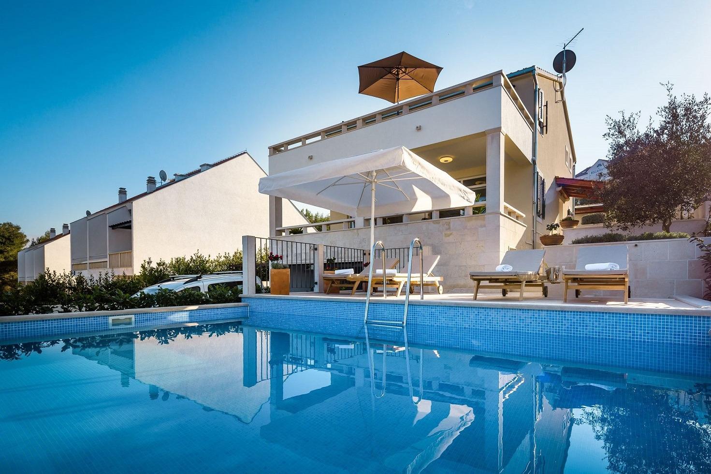 Villy/Dovolenkové domy, Sutivan, Ostrov Brač - Dovolenkové domy, vily  Dream - private pool: