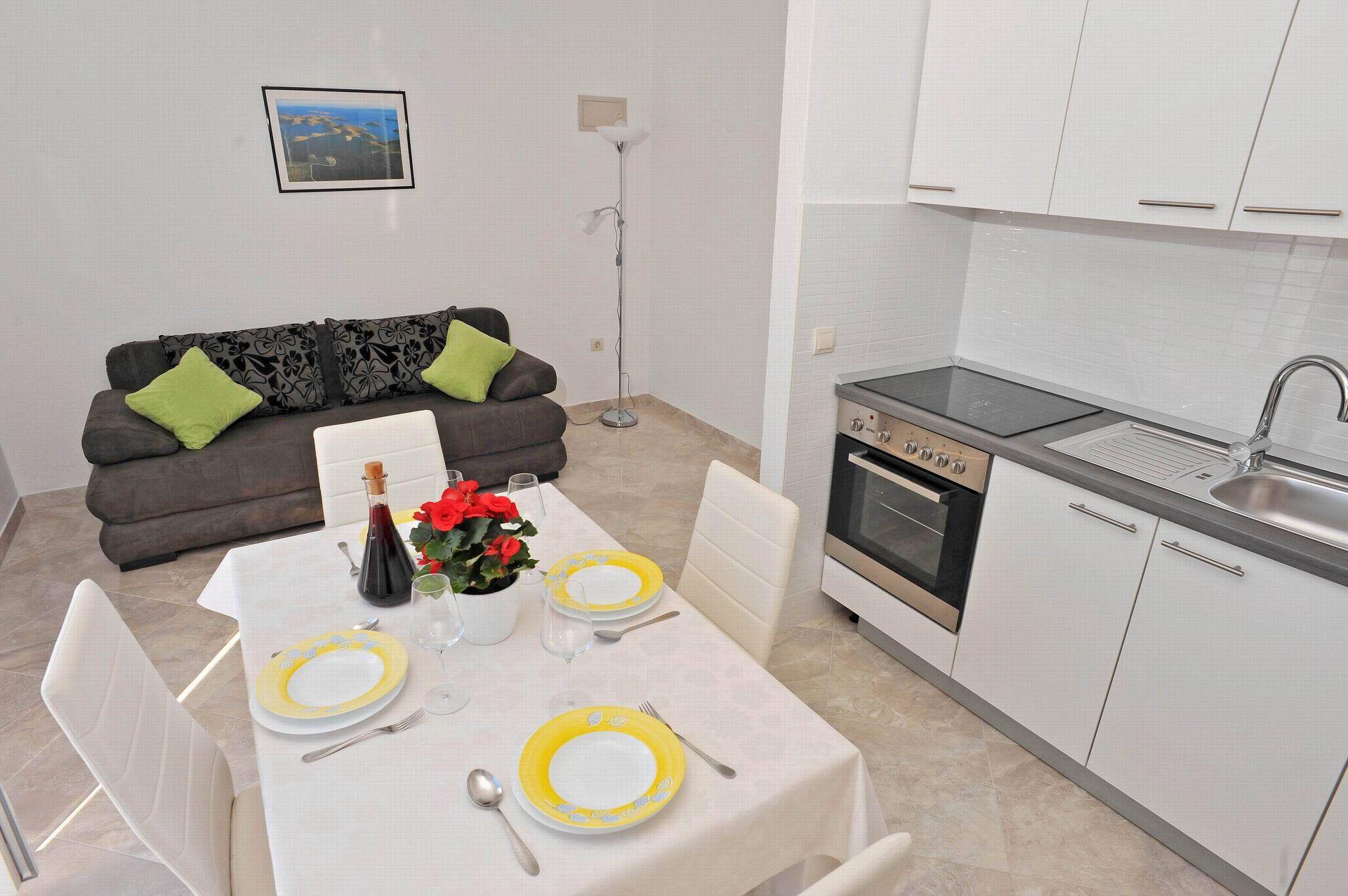 00901SUTI  - Sutivan - Appartements Croatie - A3(2+2): intérieur