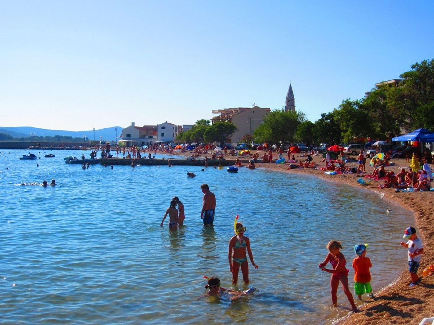 Ferienwohnung Ivan A2(4+1) - Turanj (918634), Turanj, , Dalmatien, Kroatien, Bild 10