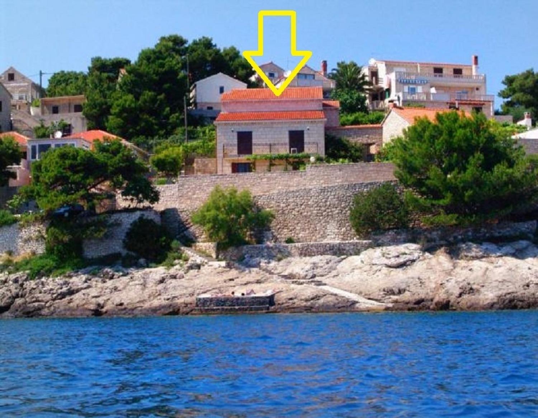 Ref - 20 m from sea :  A2(4) - Bucht Puntinak (Sel Ferienwohnung in Kroatien