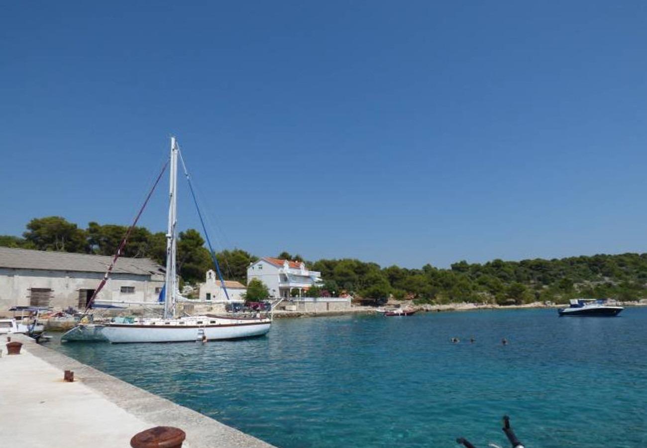 Ferienwohnung Dragan A2(3+1) - Jezera (738354), Jezera, Insel Murter, Dalmatien, Kroatien, Bild 12