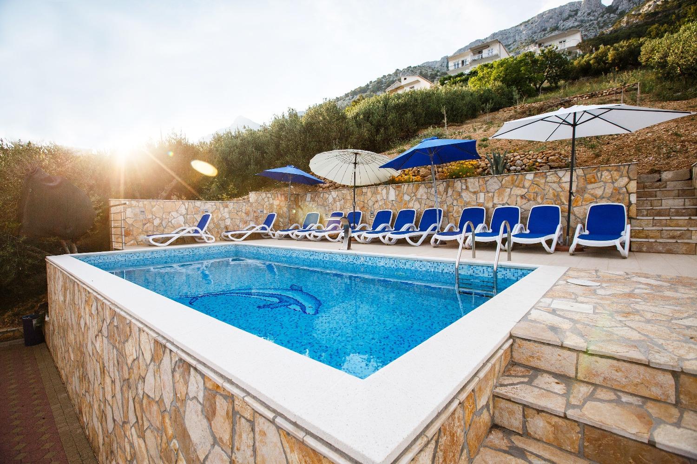Ferienwohnung Dusa A1 - I kat(4+2) - Pisak (2616338), Pisak, , Dalmatien, Kroatien, Bild 3