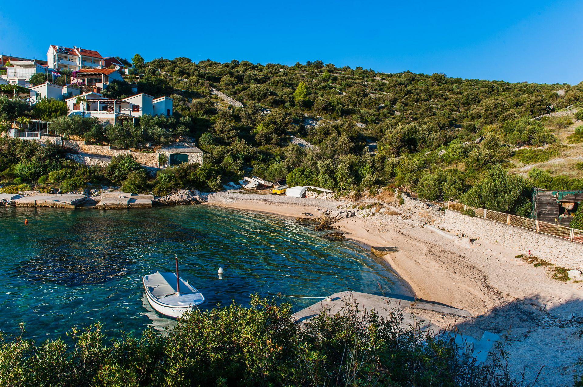 Ferienwohnung 01106ROGO A2(6+2) - Bucht Kanica (Rogoznica) (741933), Rogoznica, , Dalmatien, Kroatien, Bild 6